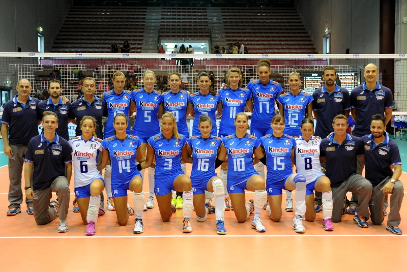 ITALIAN VOLLEYBALL TEAM IS PROTAGONIST AT THERMAE ABANO MONTEGROTTO